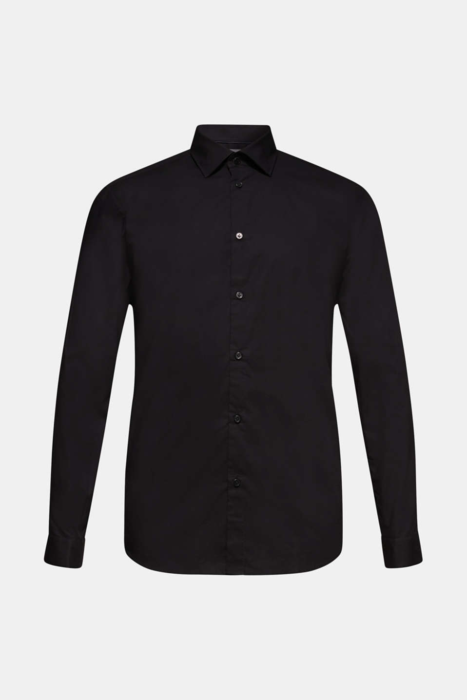 Shirts woven Regular fit, BLACK, detail image number 7