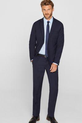 Shirt with mechanical stretch, 100% cotton, LIGHT BLUE, detail