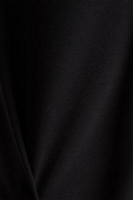 Stretch jersey nursing dress, BLACK, detail