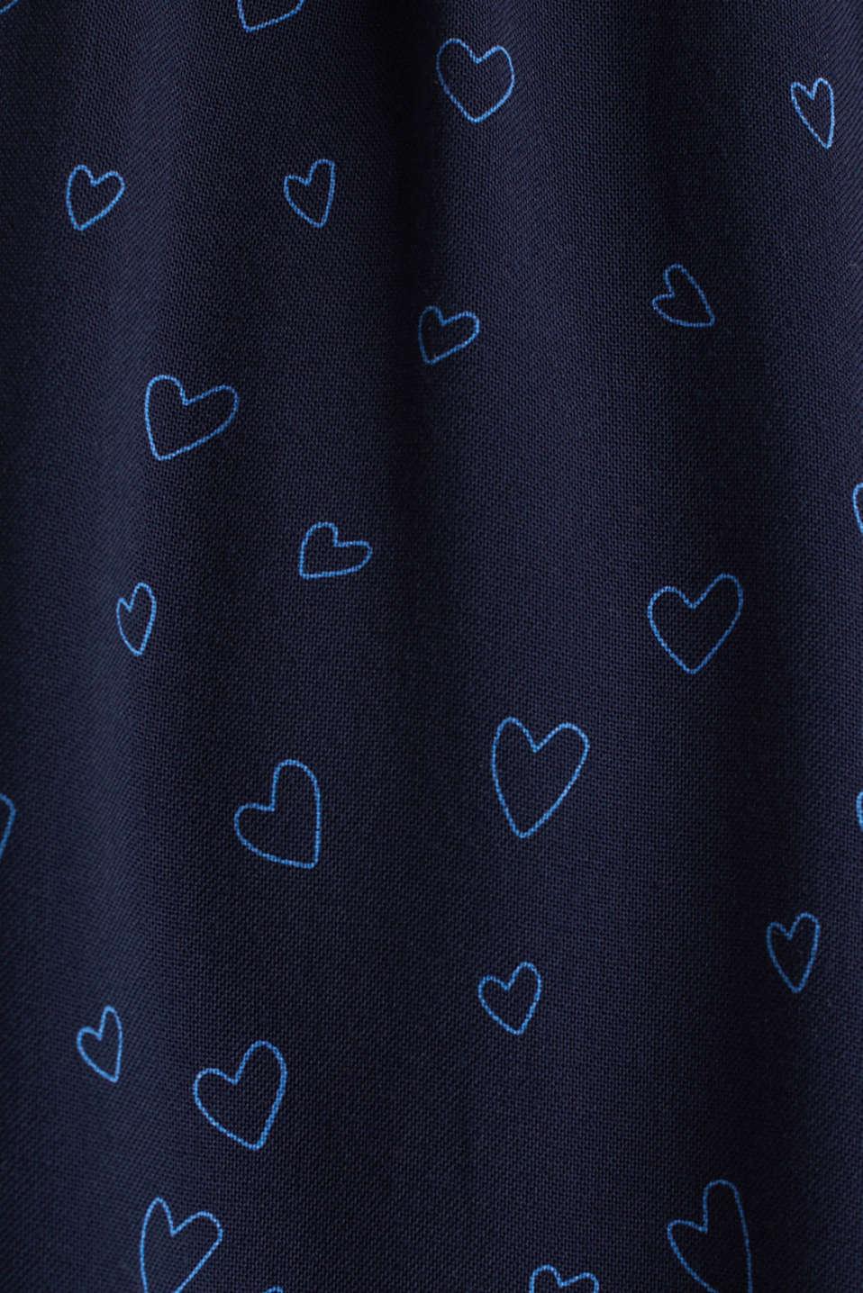 Print nursing dress, LCNIGHT BLUE, detail image number 4