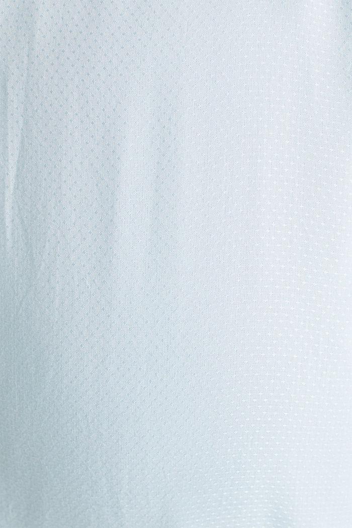 Jacquard nursing blouse, LIGHT BLUE, detail image number 4