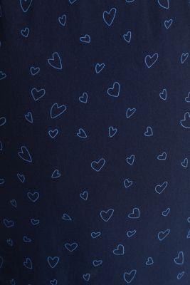 Print nursing blouse, LCNIGHT BLUE, detail