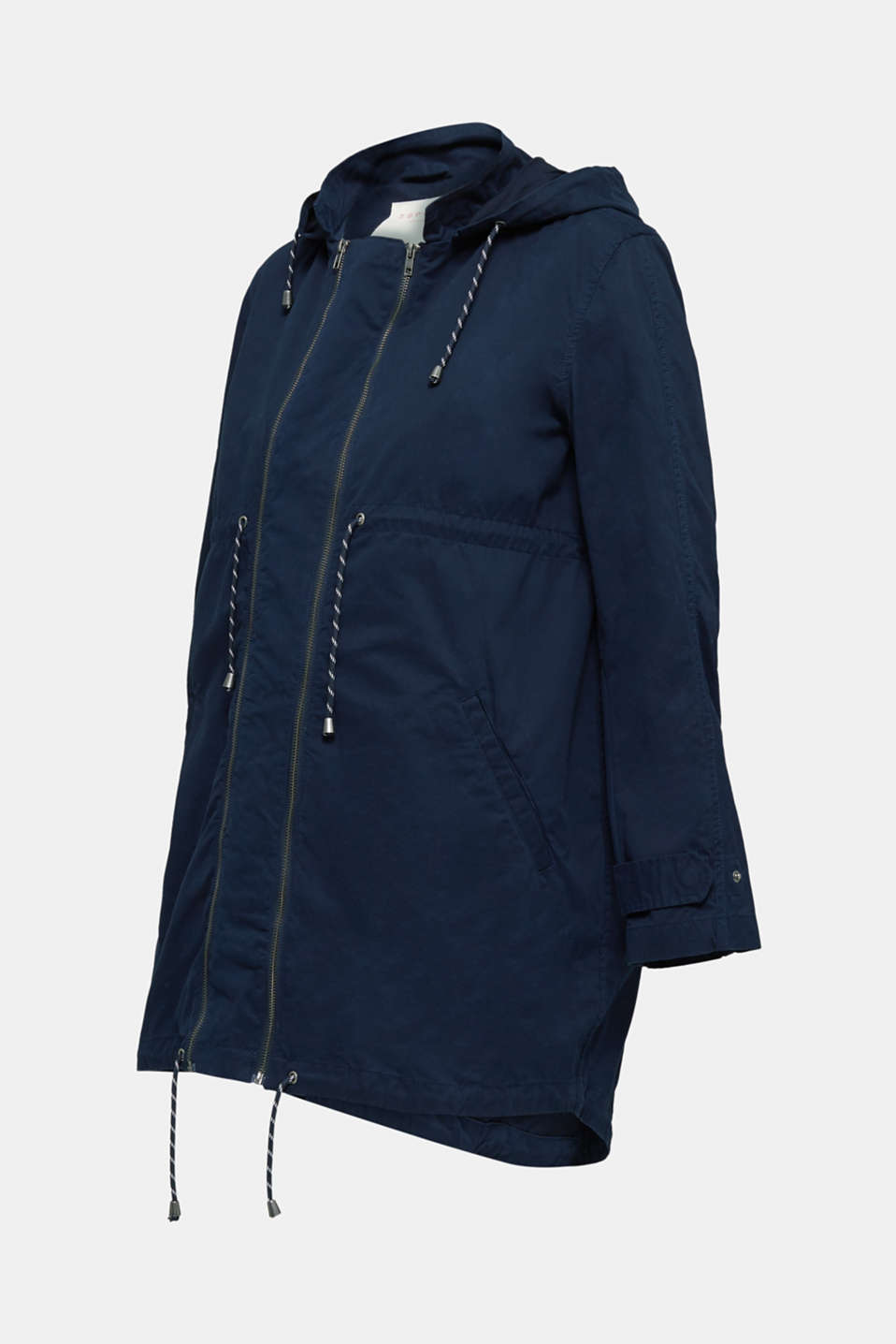 Three-in-one parka made of 100% cotton, LCNIGHT BLUE, detail image number 5