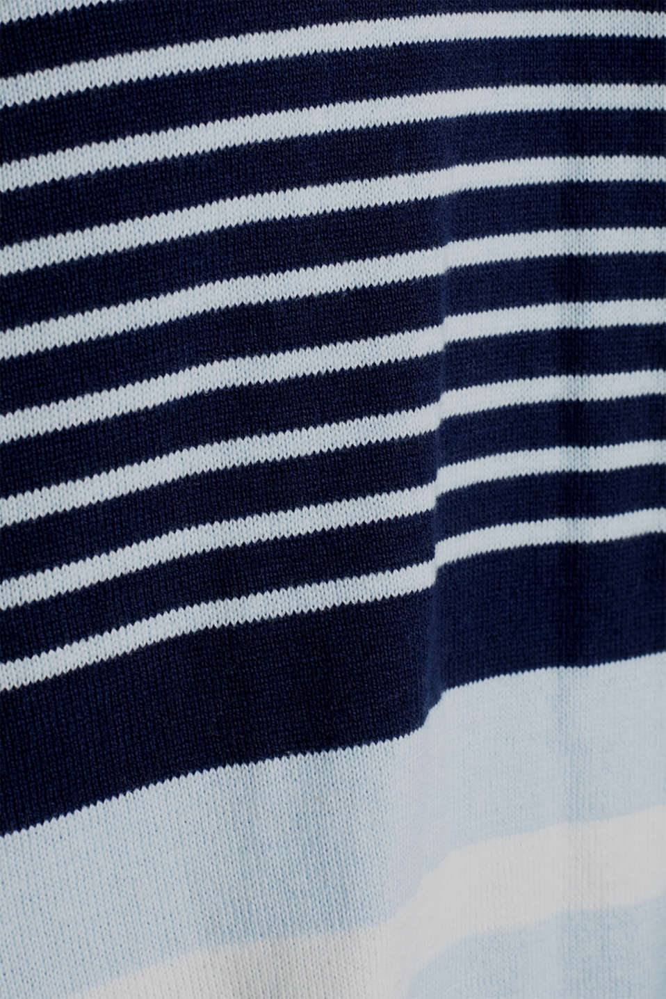 Cardigan with a tie-around belt, LCNIGHT BLUE, detail image number 4