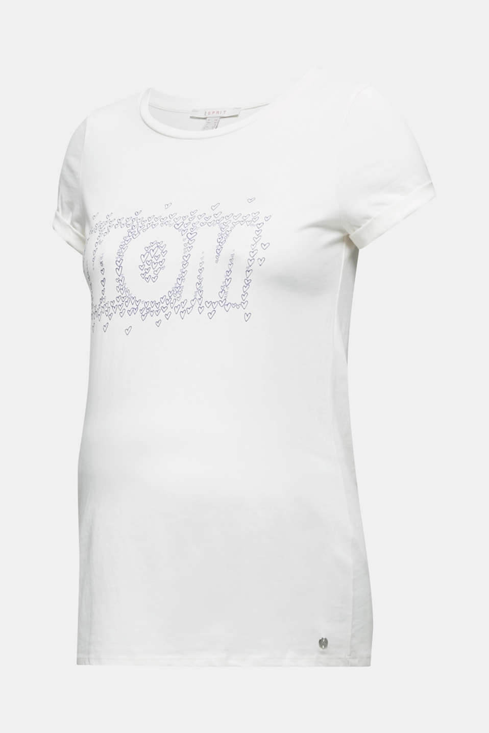 T-shirt with a print, 100% cotton, LCOFF WHITE, detail image number 5