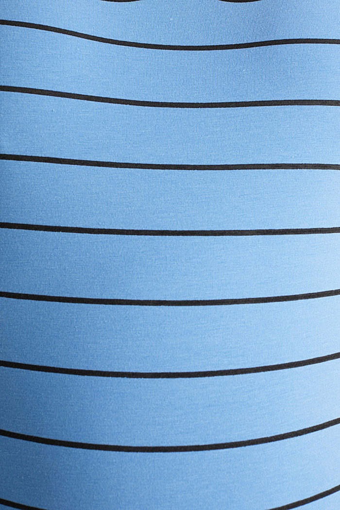 Stretch-Shirt mit Frontprint, BLUE, detail image number 4