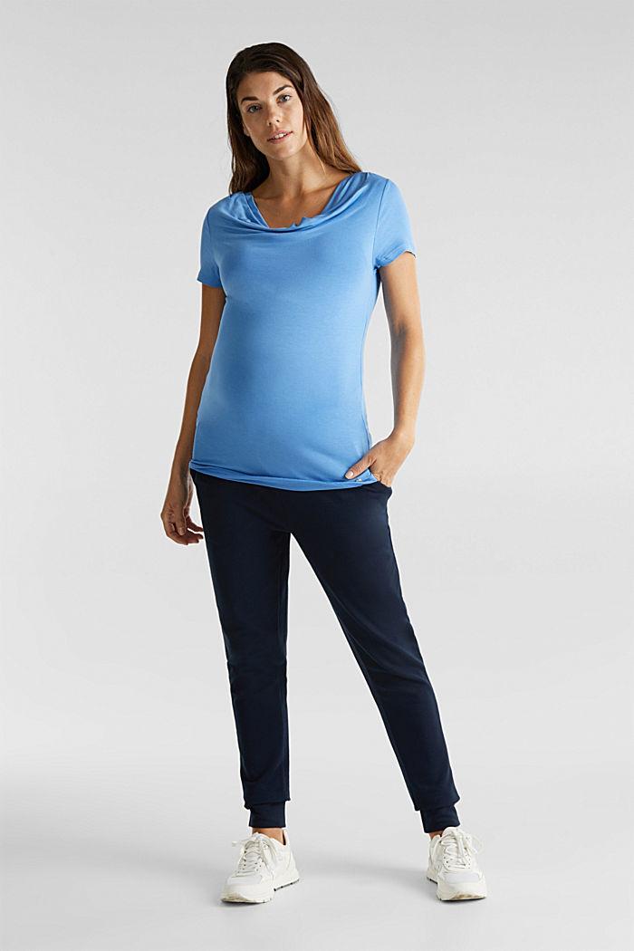 Wasserfall-Shirt mit Stillfunktion, BLUE, detail image number 1