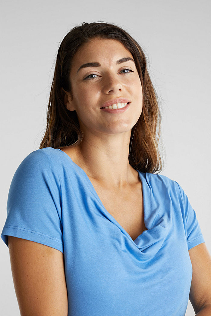 Wasserfall-Shirt mit Stillfunktion, BLUE, detail image number 6