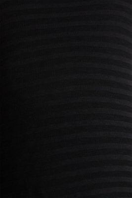 2 in 1: Long sleeve top with a nursing top, BLACK, detail