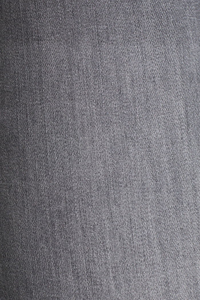Super stretchy jeans, over-the-bump waistband, GREY DENIM, detail image number 4