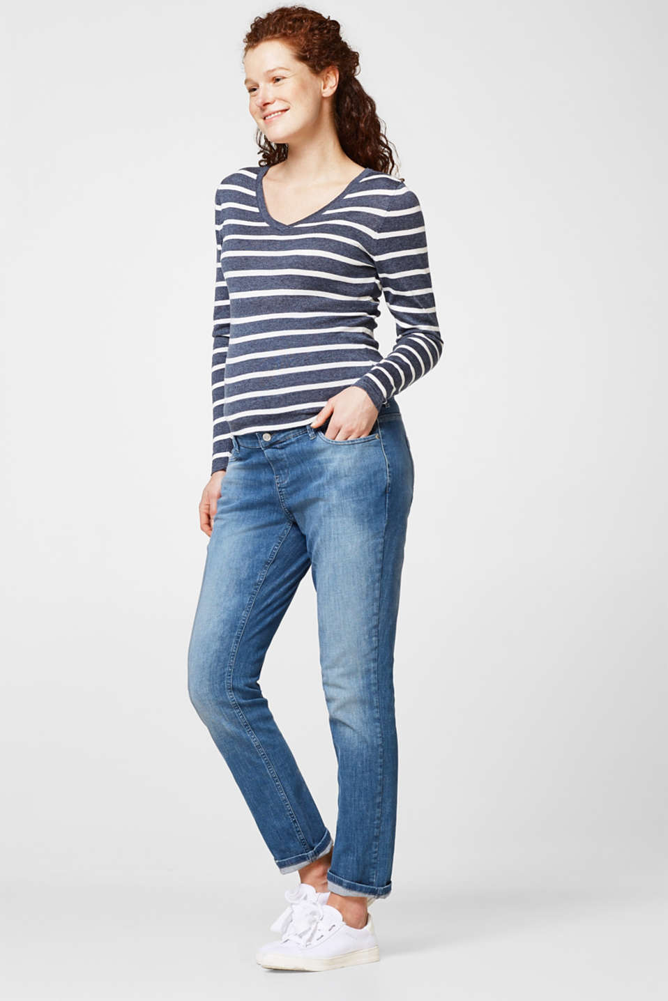 Esprit - Super stretchy over-the-bump jeans