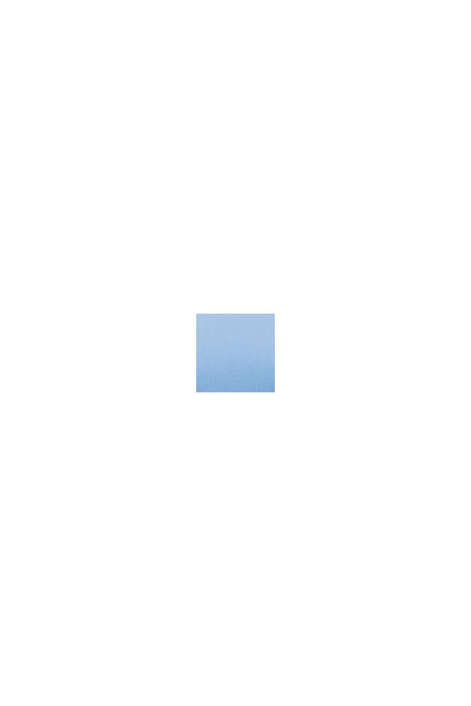Klänning i stretchjersey med spets, BLUE, swatch