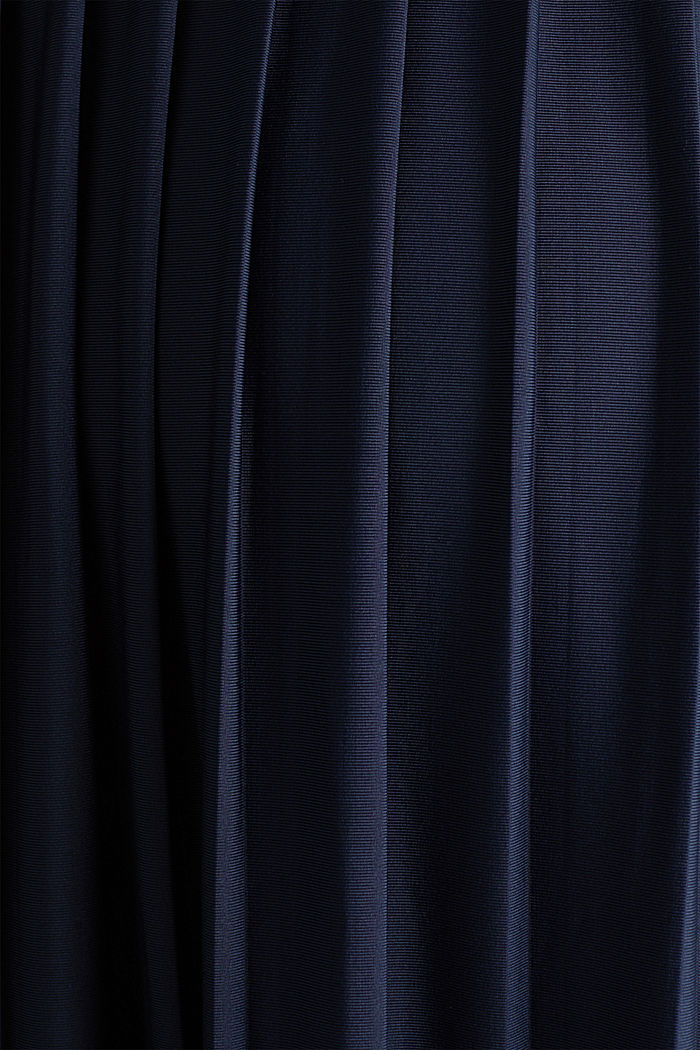 Jersey-Stretch-Kleid mit Spitze, NIGHT BLUE, detail image number 4