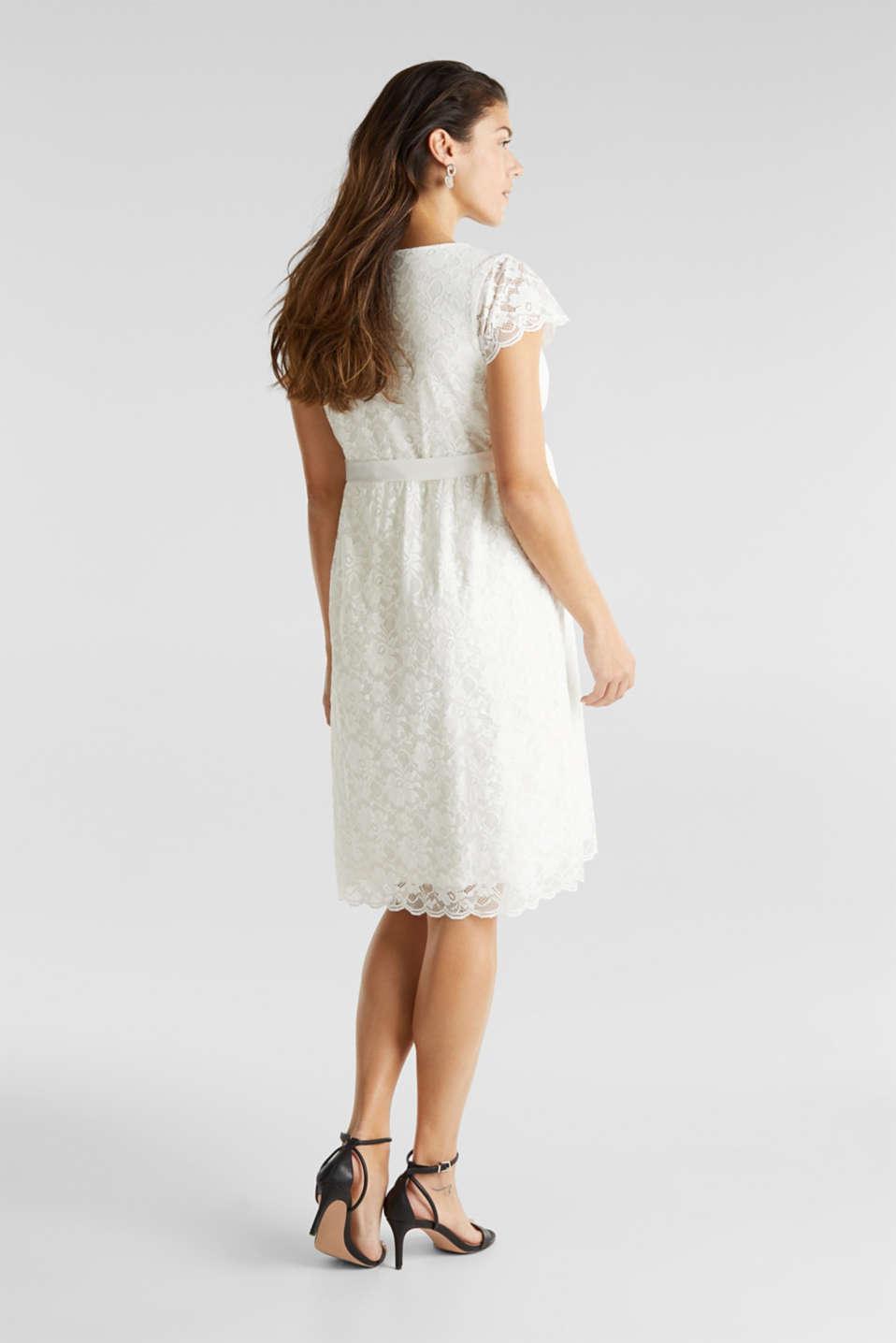 Nursing wedding dress, LCOFF WHITE, detail image number 3