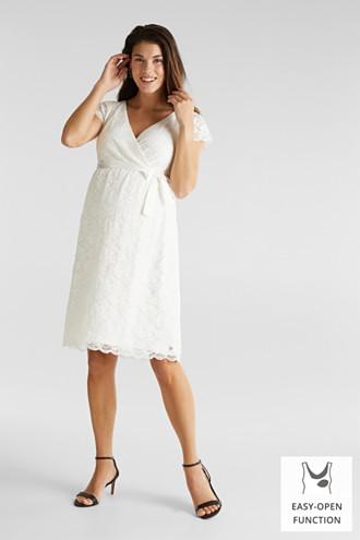 Nursing wedding dress