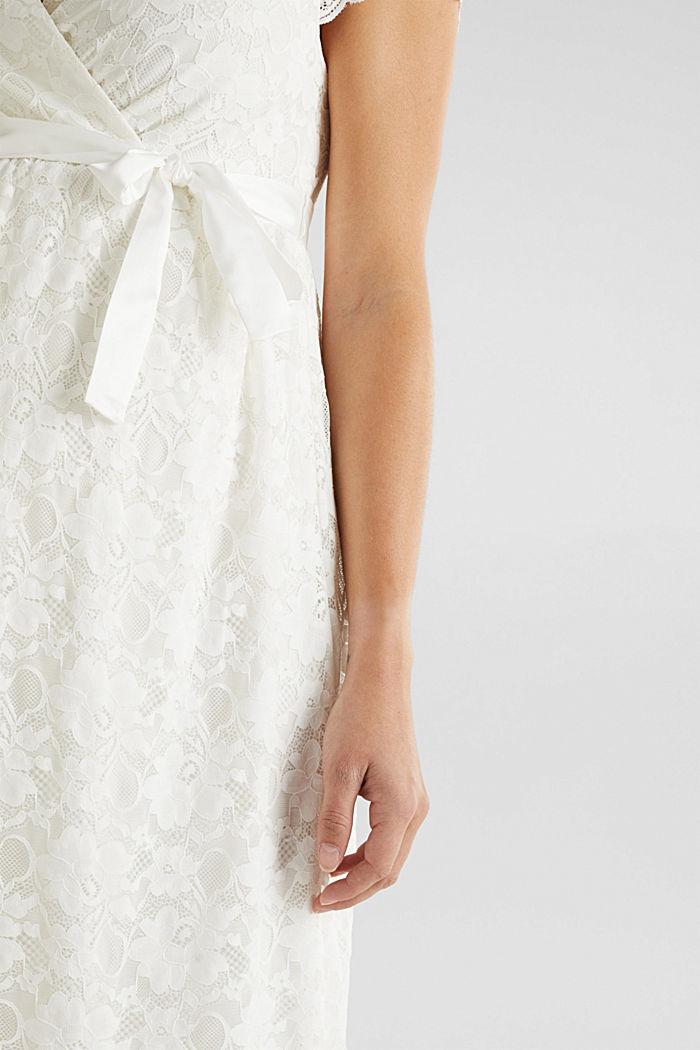 Vestido de novia con función de lactancia, OFF WHITE, detail image number 2