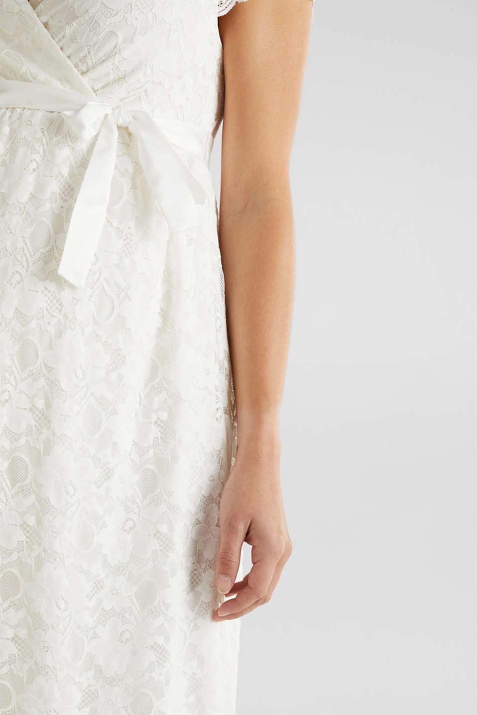 Nursing wedding dress, LCOFF WHITE, detail image number 2