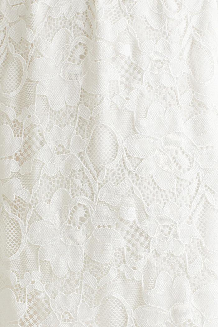 Vestido de novia con función de lactancia, OFF WHITE, detail image number 4