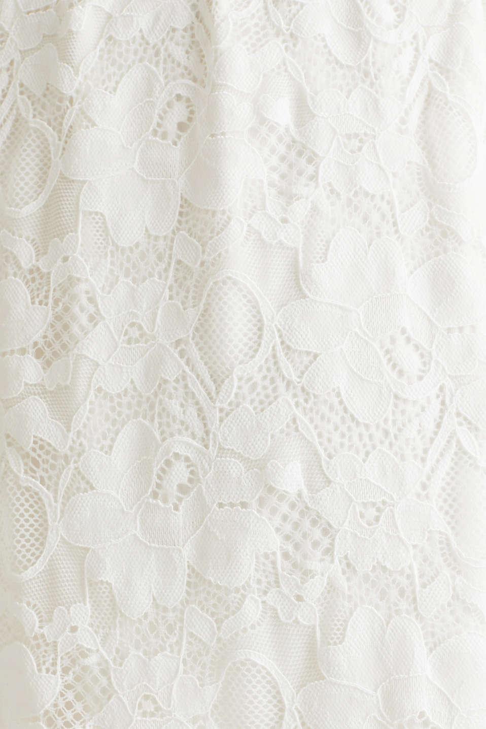 Nursing wedding dress, LCOFF WHITE, detail image number 4