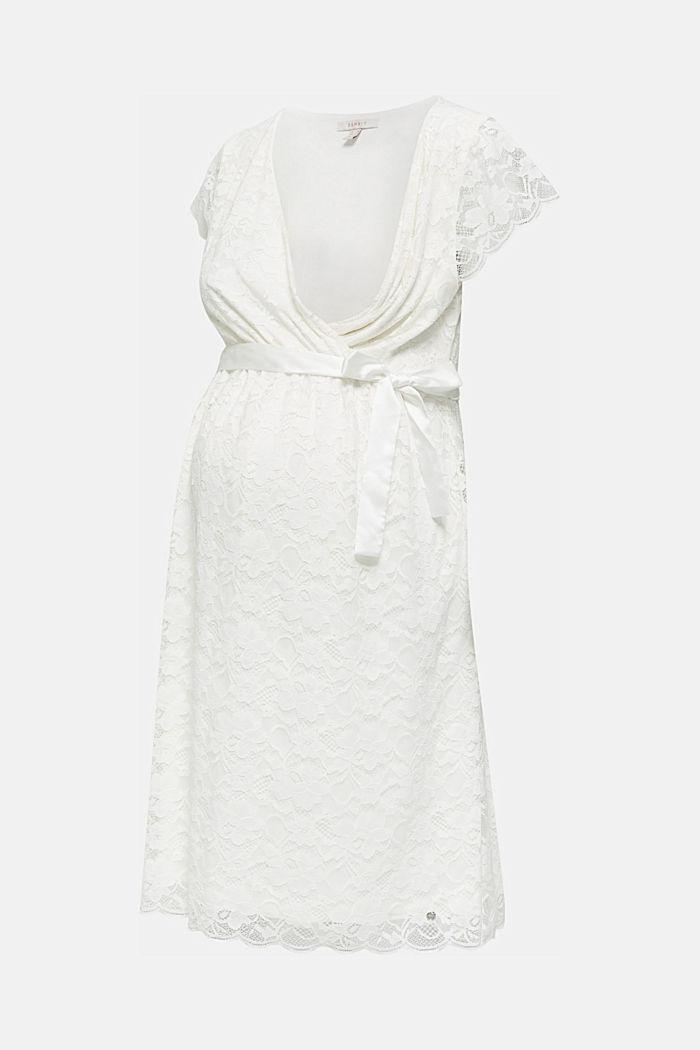 Vestido de novia con función de lactancia, OFF WHITE, detail image number 5