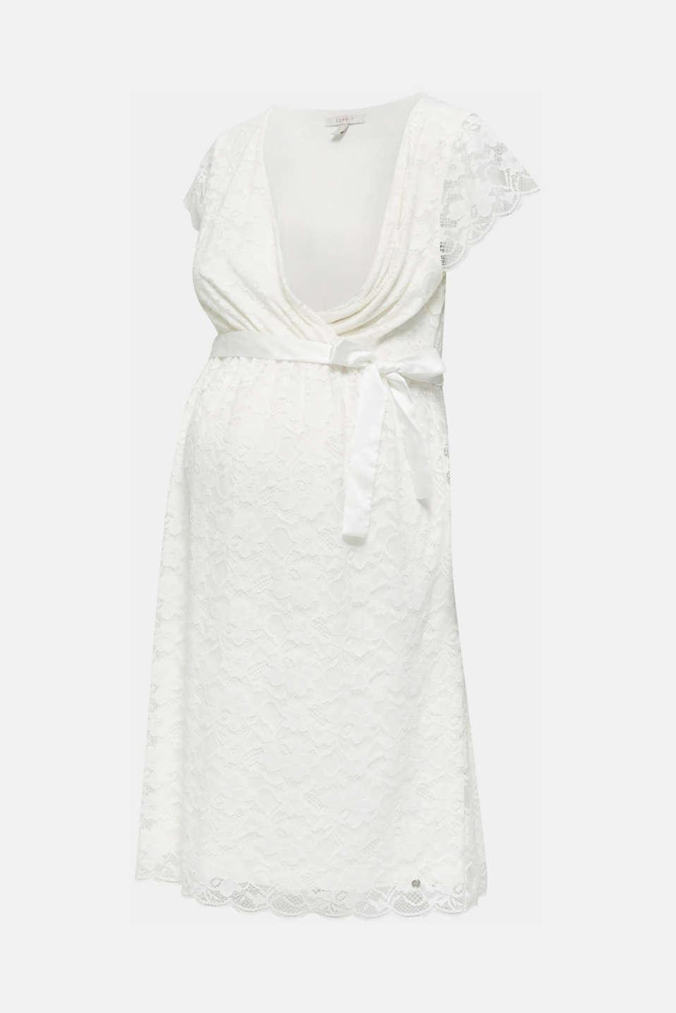 Nursing wedding dress, LCOFF WHITE, detail image number 5