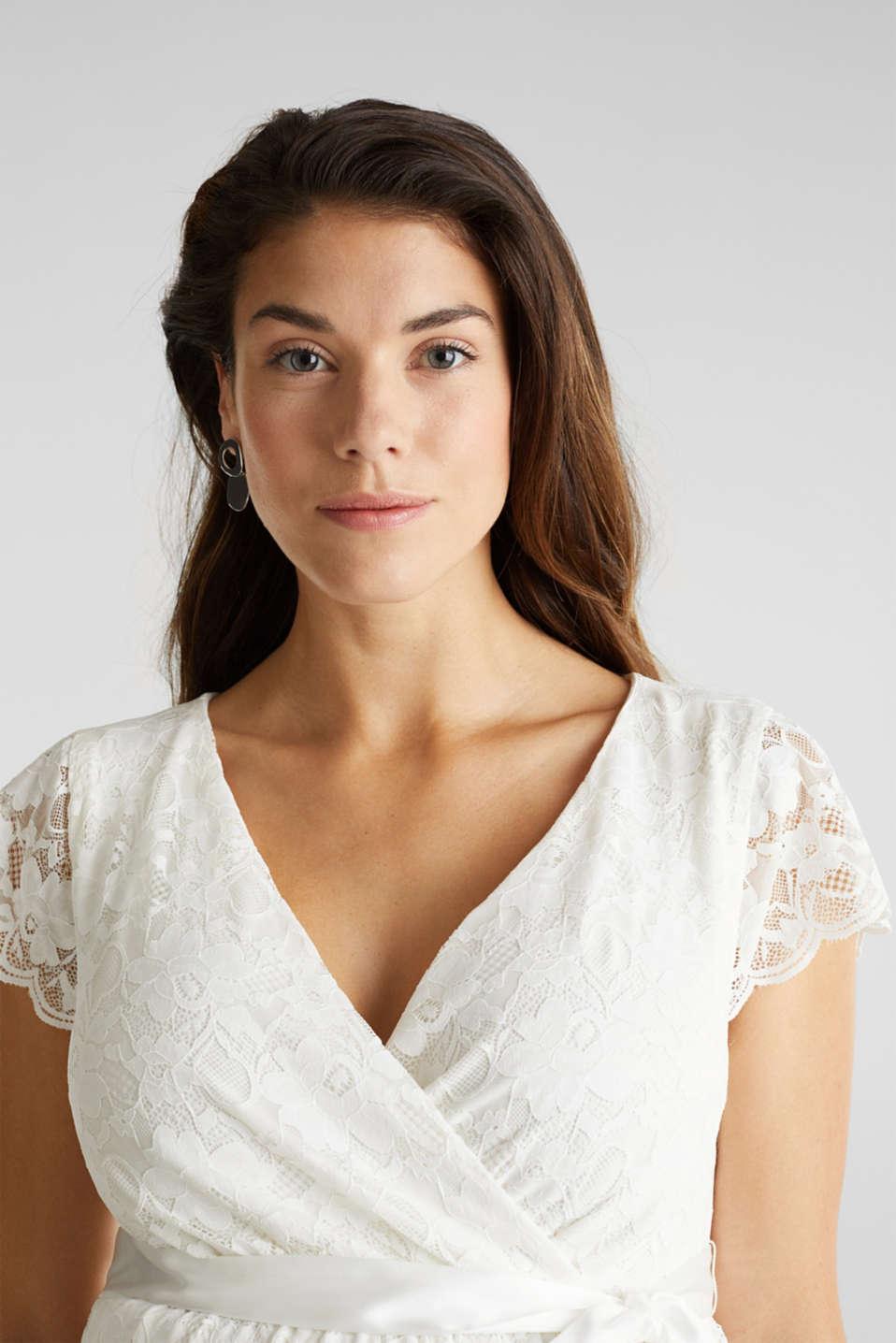 Nursing wedding dress, LCOFF WHITE, detail image number 6