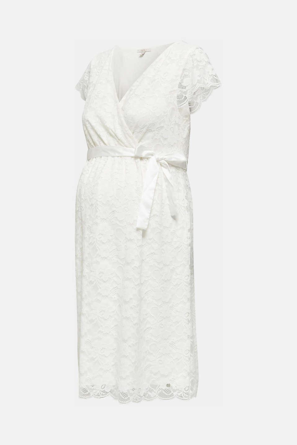 Nursing wedding dress, LCOFF WHITE, detail image number 7