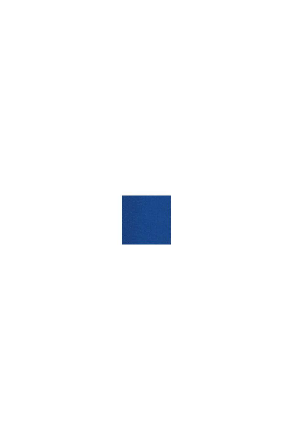 Robe plissée à fonction allaitement, BRIGHT BLUE, swatch