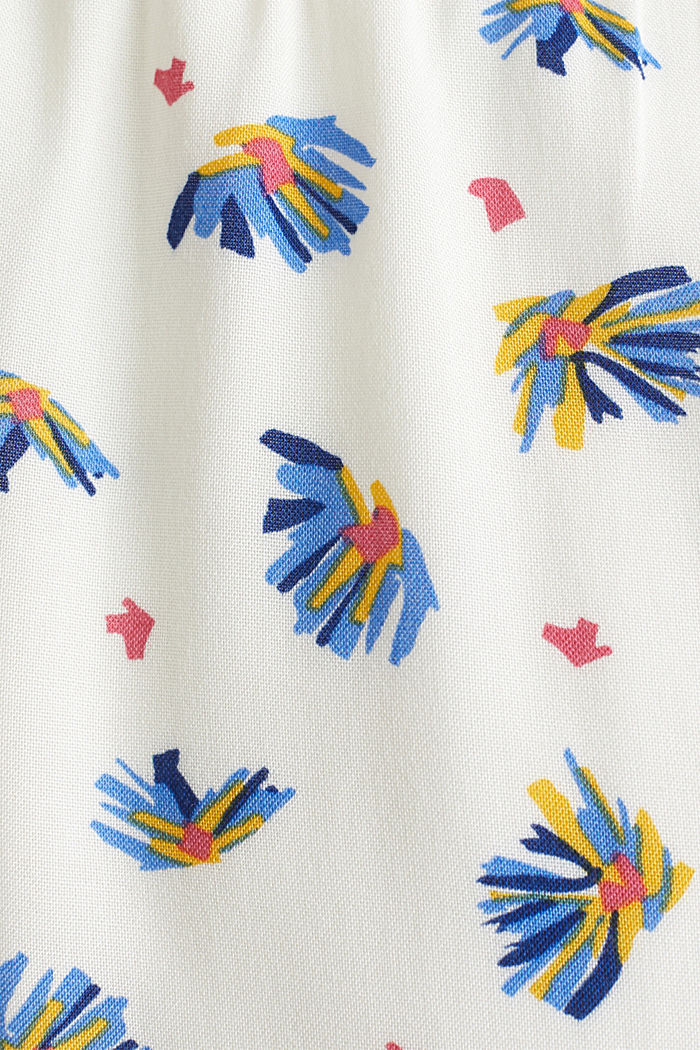 Dress with a print and nursing function, OFF WHITE, detail image number 4