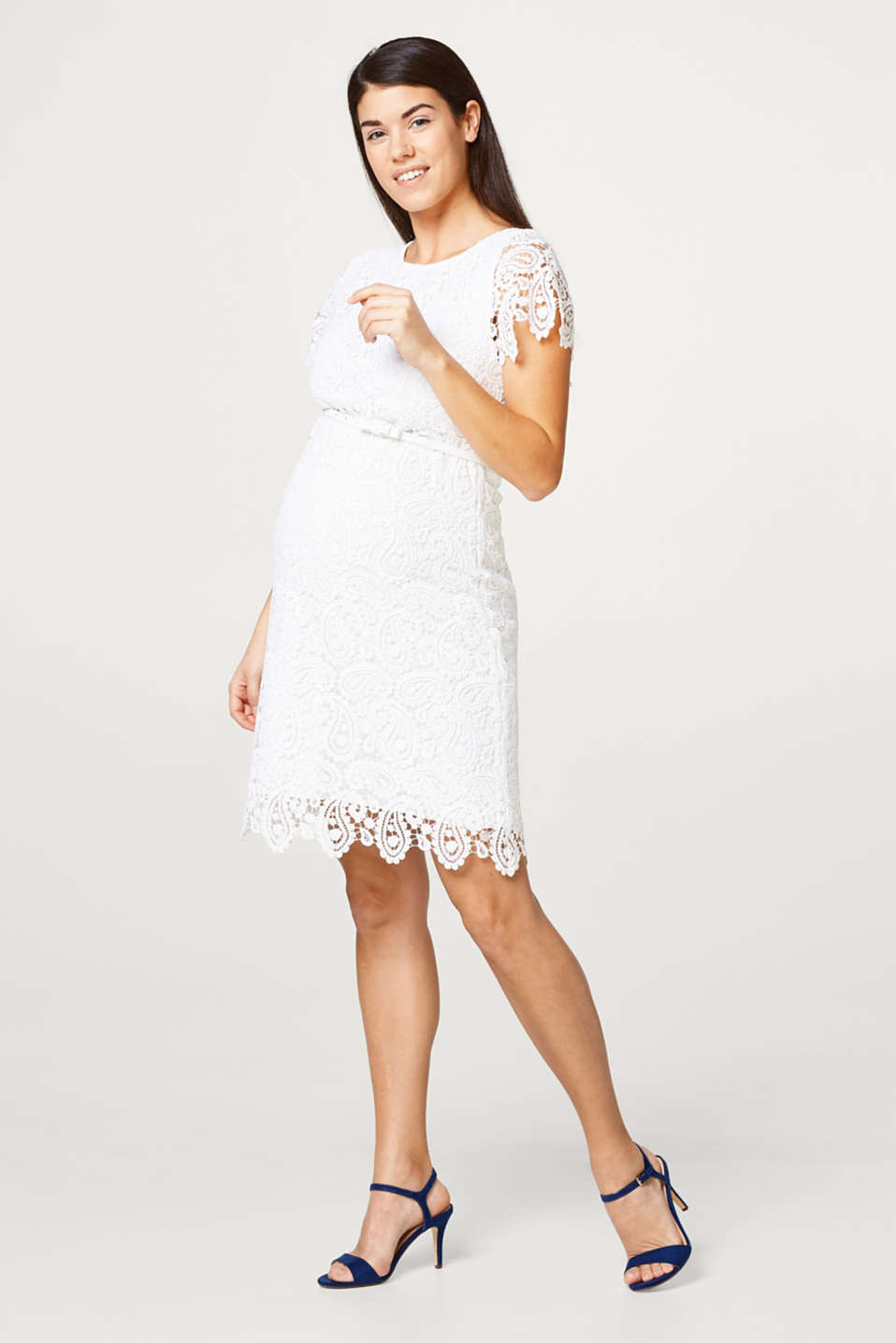 Occasionwear lace dress + belt
