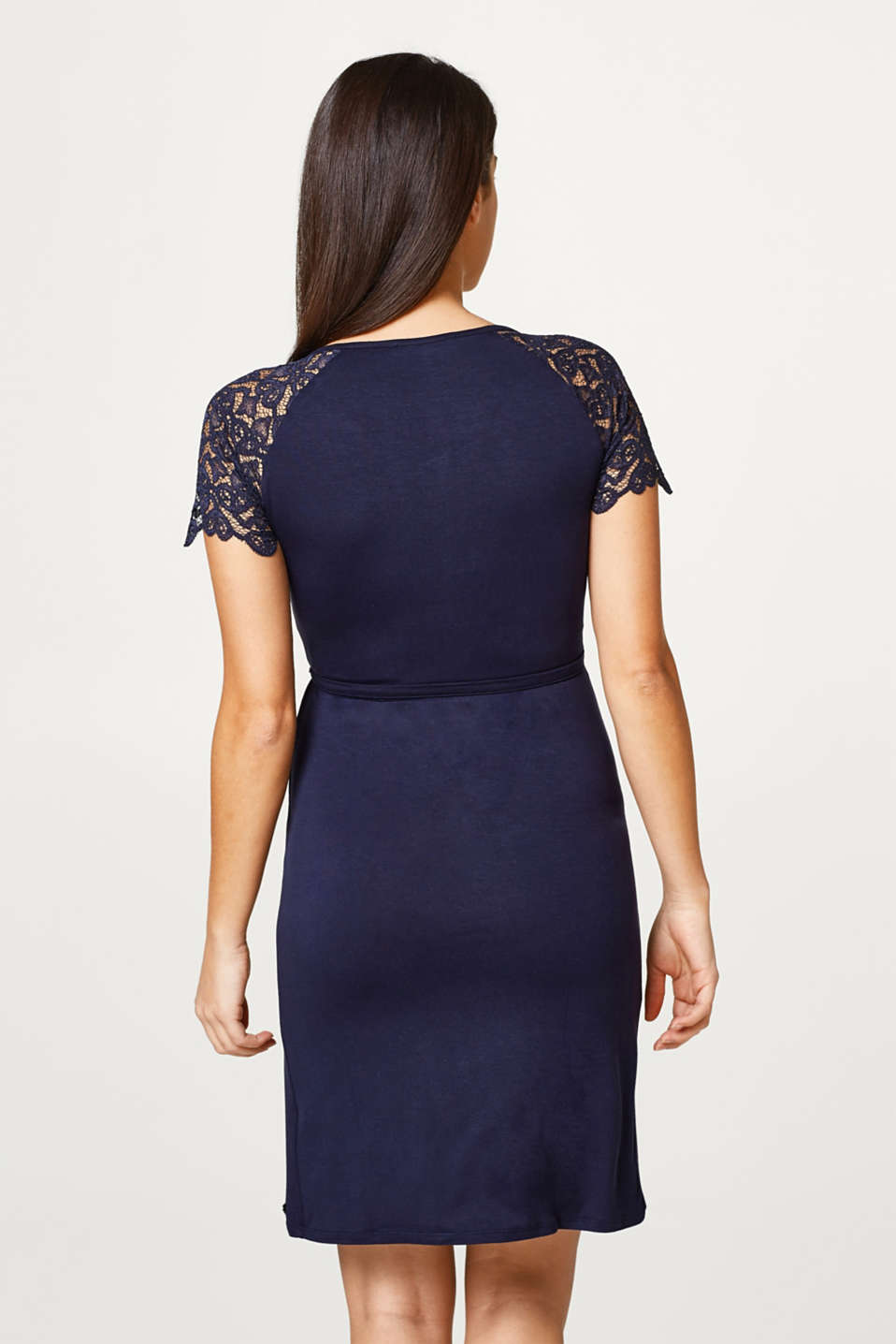 Nursing dress with stretch