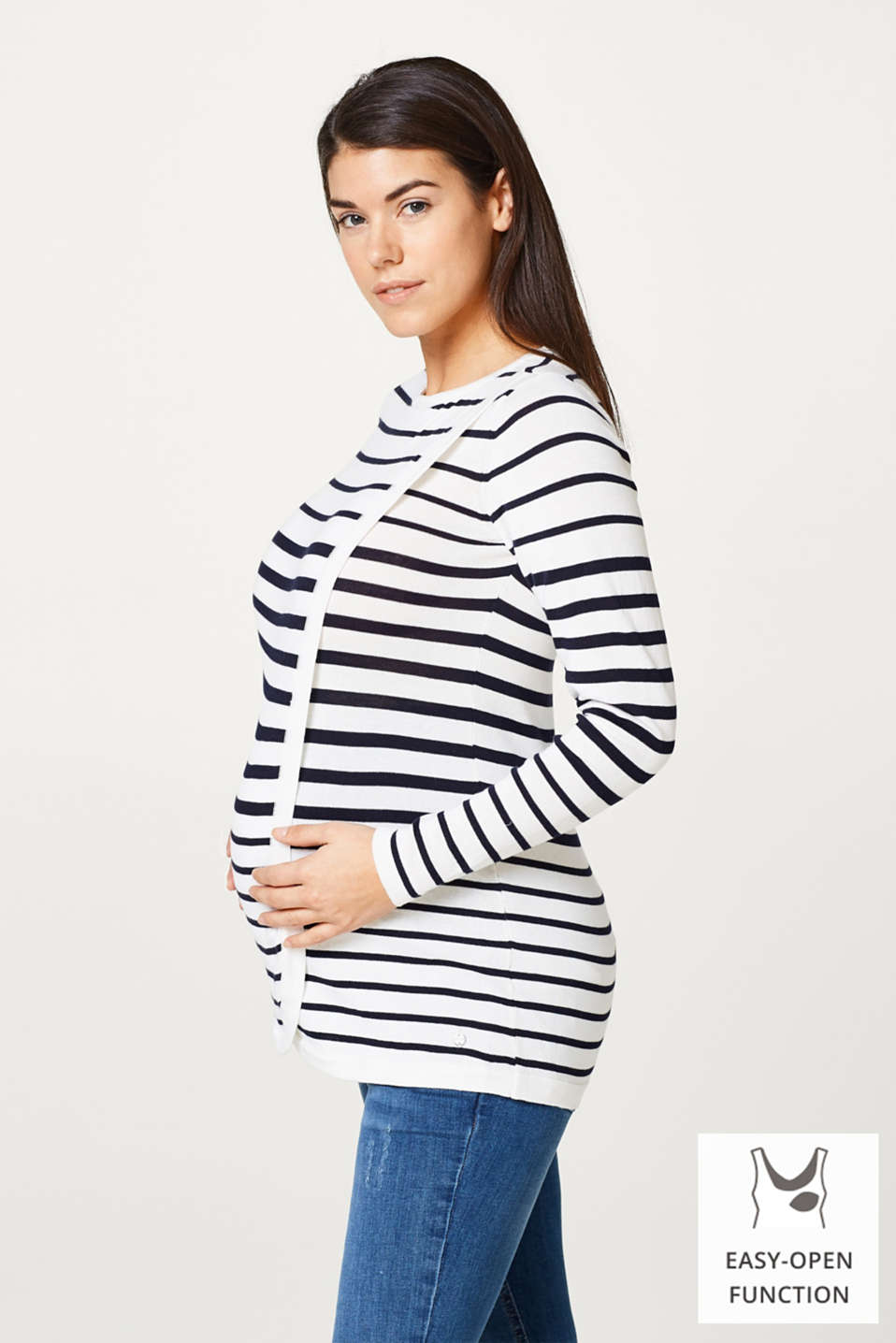 Esprit - Striped nursing jumper