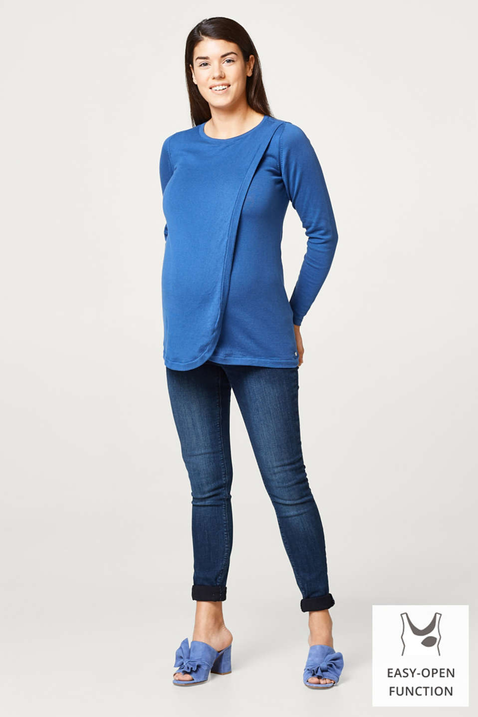 Esprit - Cotton nursing jumper