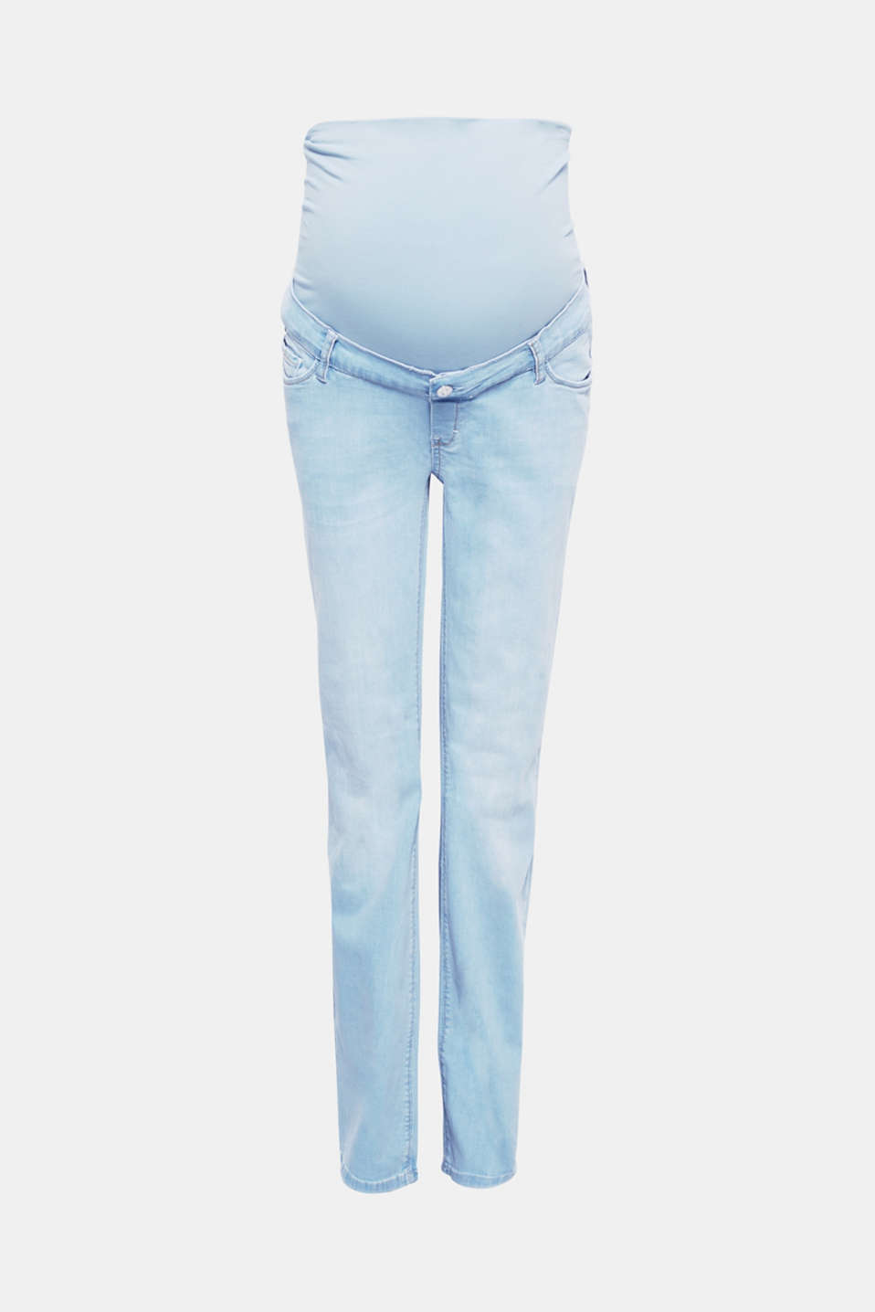 These stretch bootcut jeans in a pale wash have a lush, laid-back Seventies vibe.