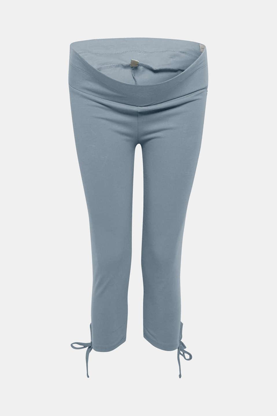 best service sports shoes best online Esprit - Bow detail Capri leggings at our Online Shop