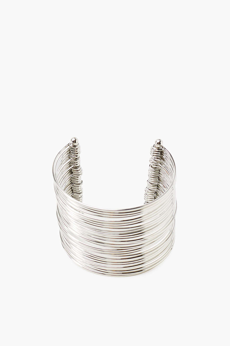 Esprit - Metal bangle with many rings