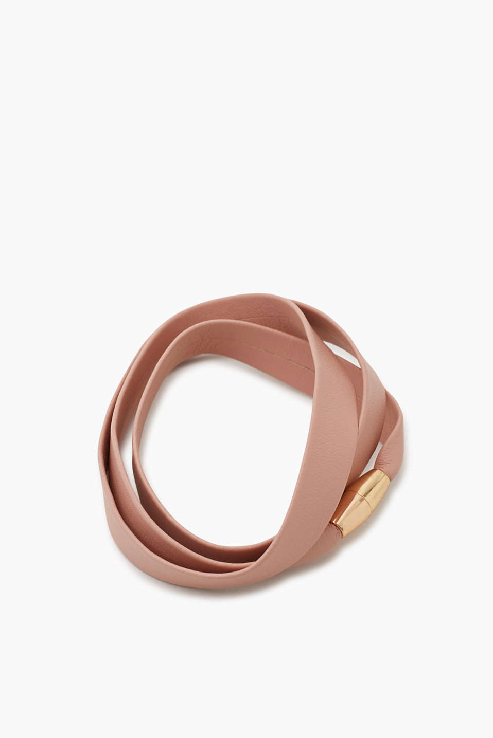 Esprit - Faux leather wristband