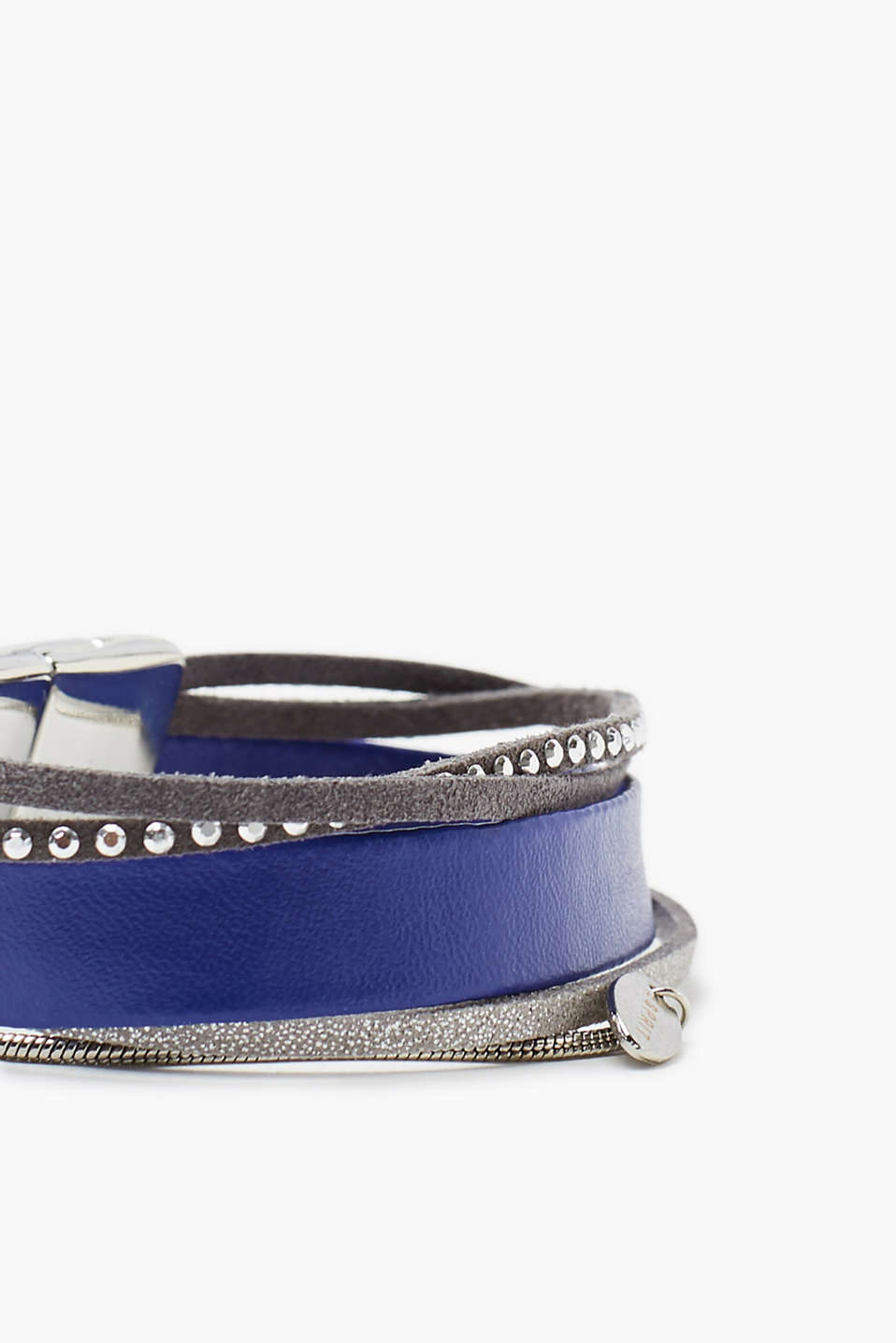Imitation leather bracelet