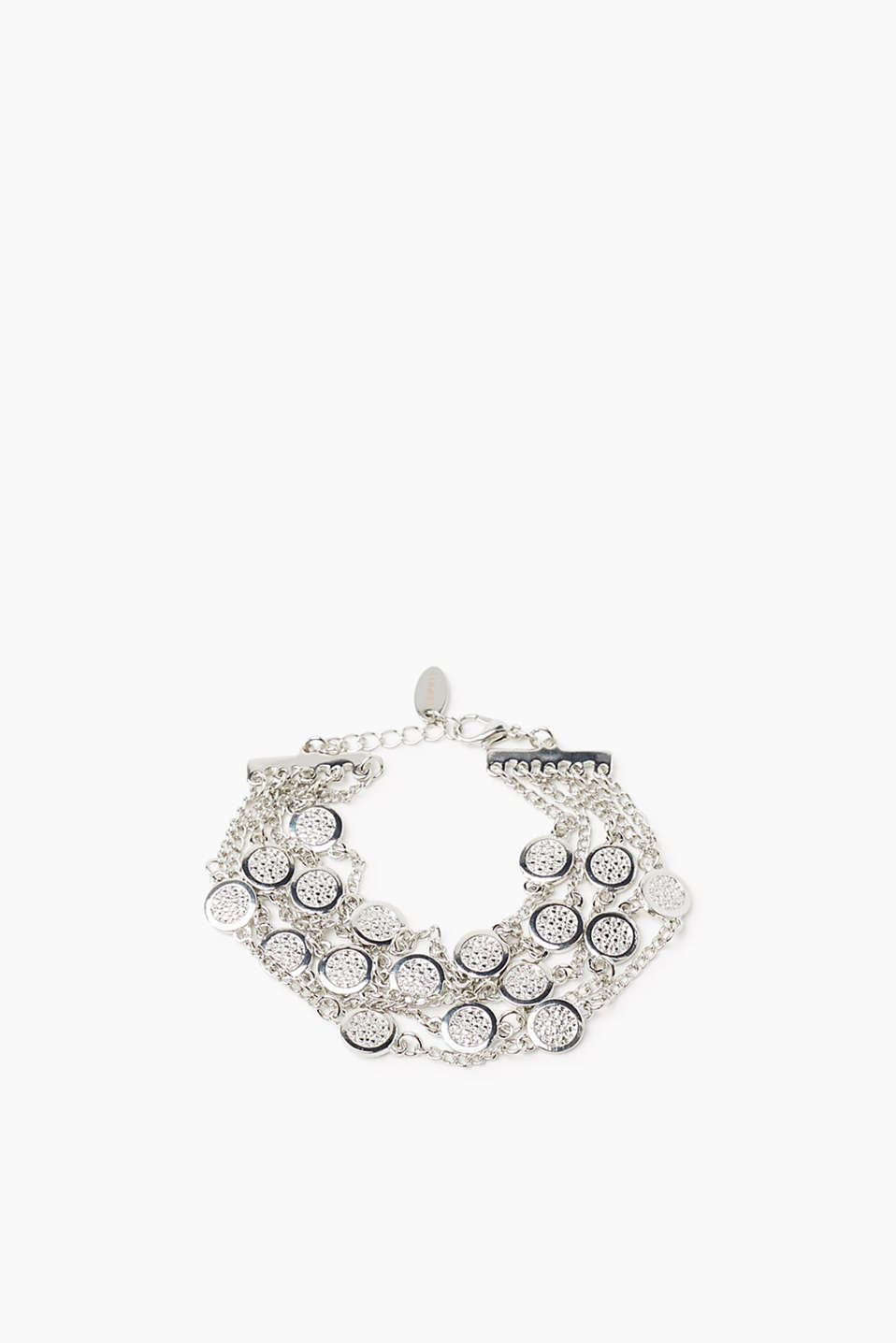 Esprit - Multi-strand bracelet made from silver metal