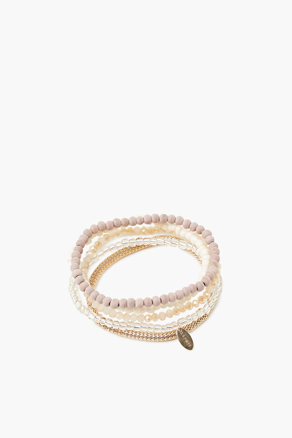 Esprit - Set of stretchy bracelets