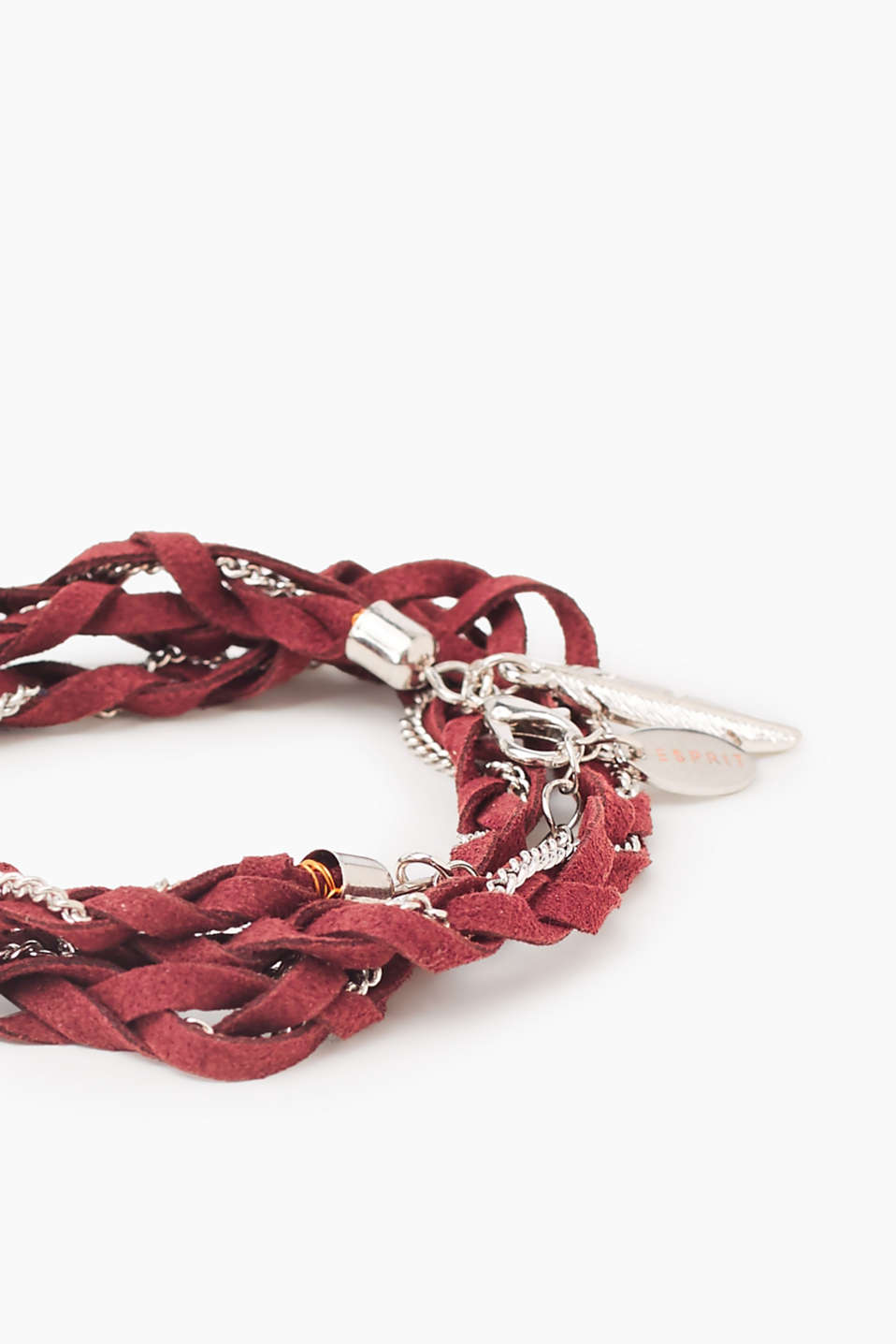 Braided bracelet in faux leather
