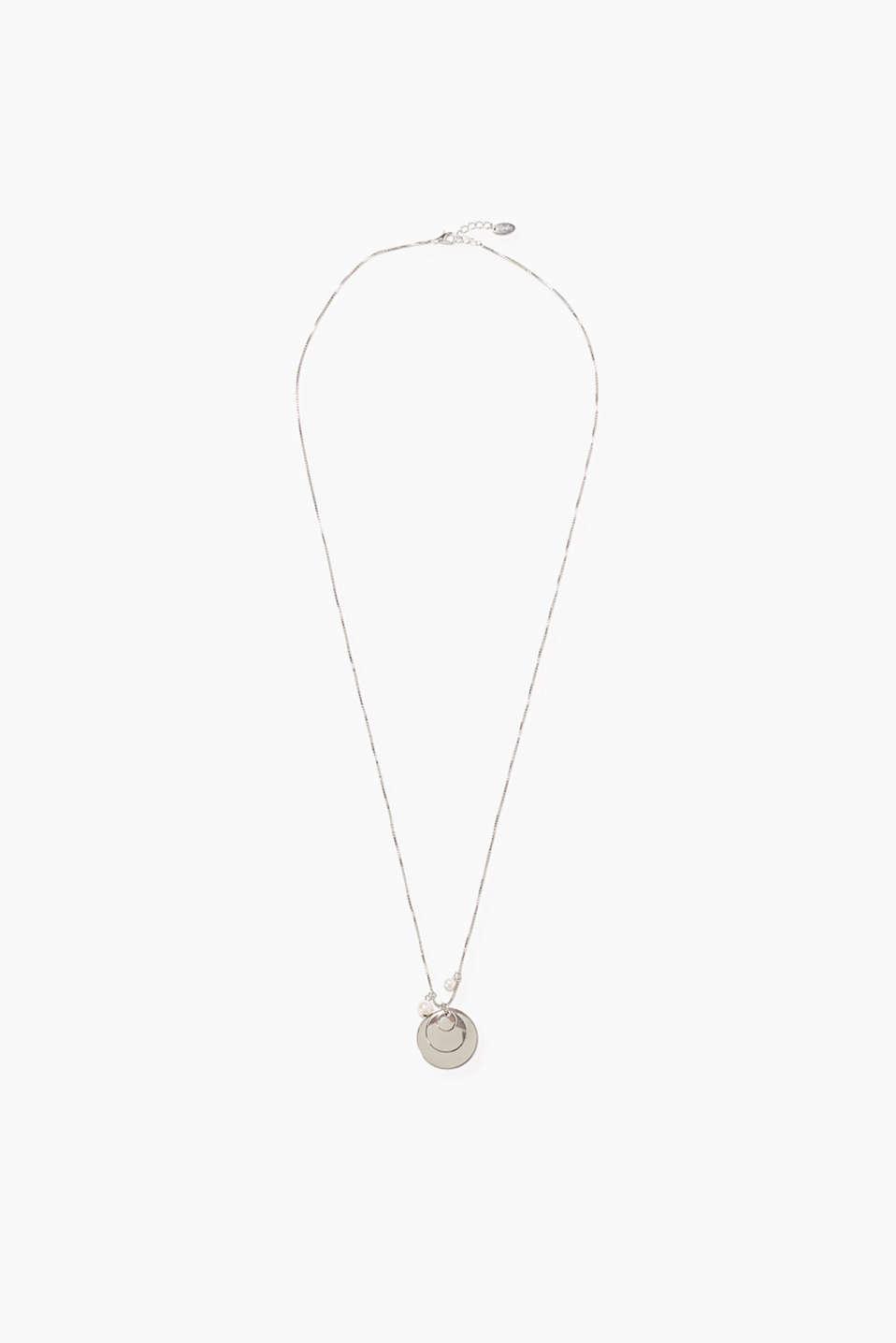 Esprit lange kette mit spiegeln und perlen im online - Spiegel mit kette ...