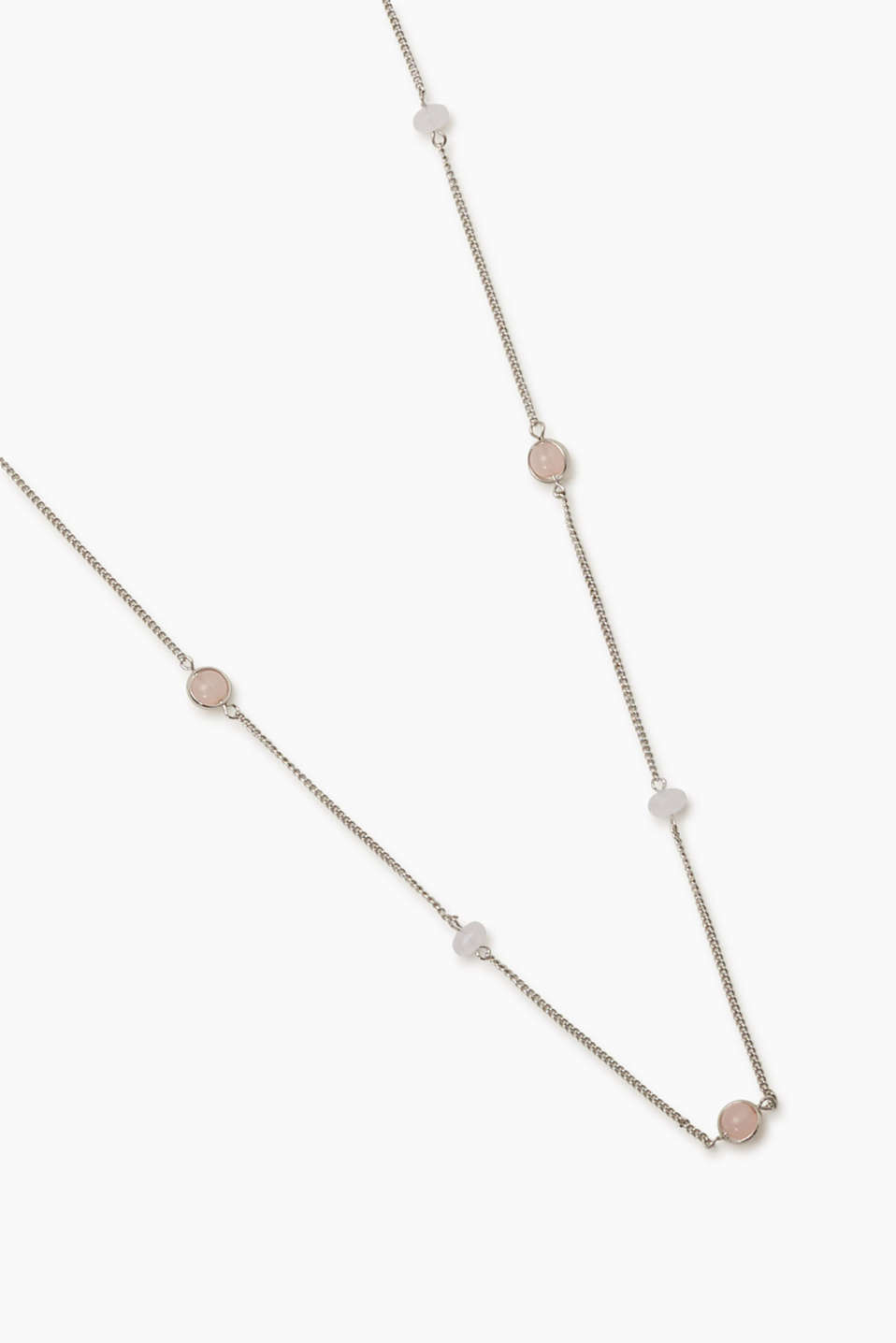 Esprit - Long necklace with glass beads