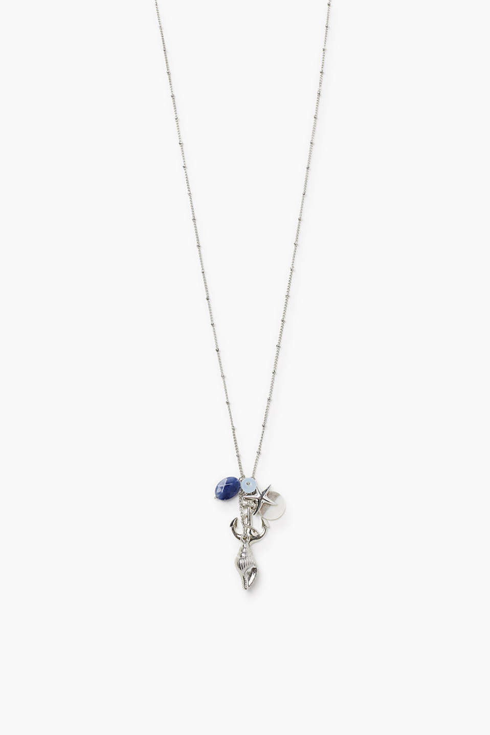 Esprit - Long necklace with a shell and a starfish
