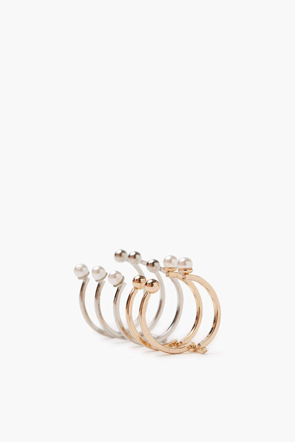 Esprit - Set of two statement rings