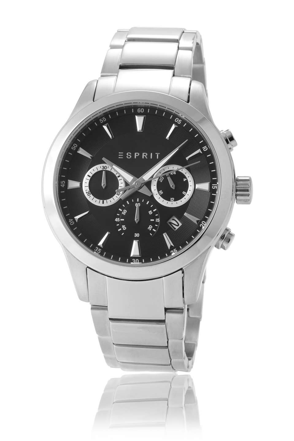 Esprit - stainless steel chrono with metal bracelet