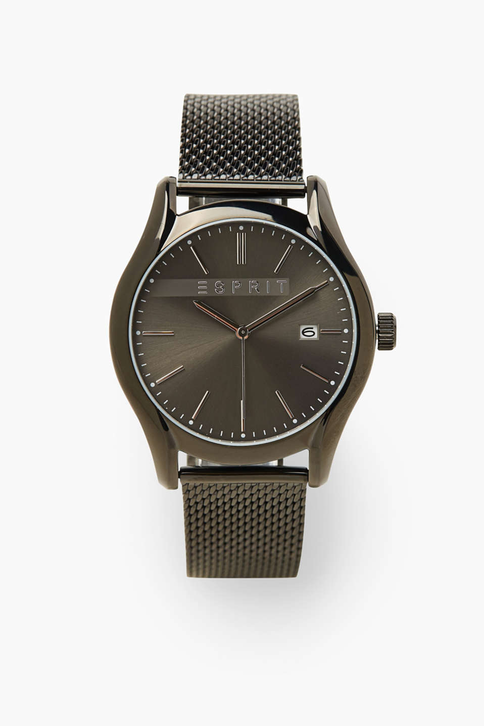 Esprit - Stainless steel watch with a Milanese strap