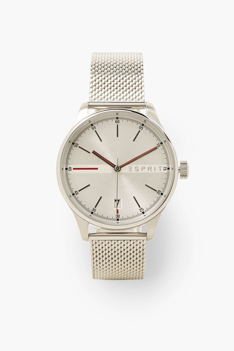 Esprit - Stainless steel watch with Milanese strap