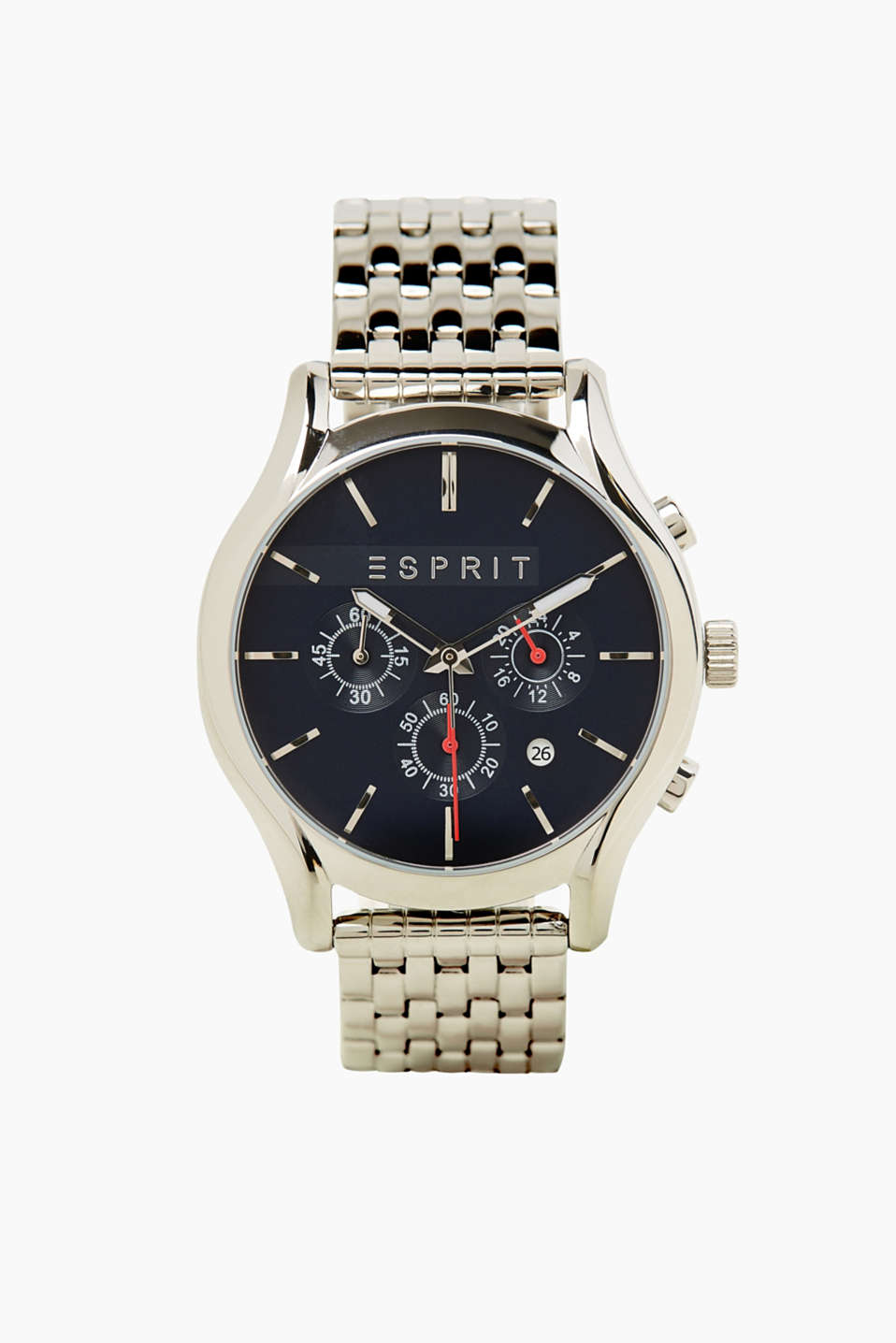 Esprit - Modern mens watch in stainless steel