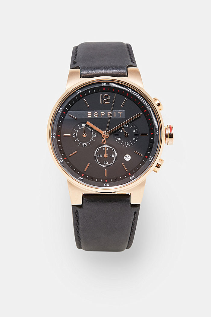 Chronograph in modern rose gold, ROSEGOLD, overview